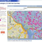 D.C. Wireless Hotspot Map