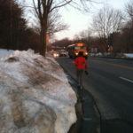 Pedestrians Still Struggling with Snow