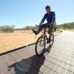 Recycled Printer Cartridges Pave Bike Path