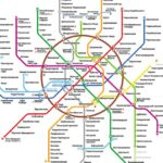 Moscow Metro Map and Usability of Public Transportation Maps