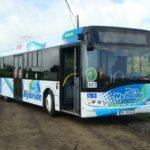 Hybrid Buses on the Road in Guadalajara