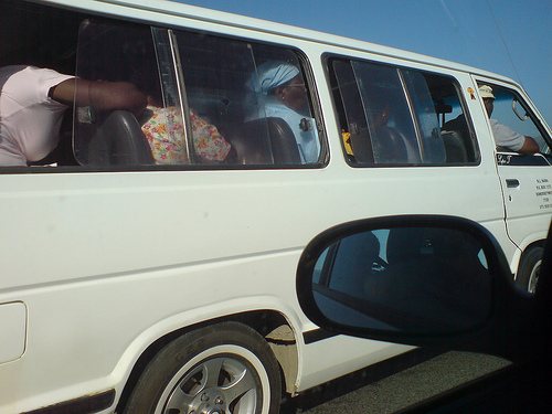 Overcrowded buses pose a serious risk to road safety on South African roads. Photo by mikemedia