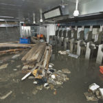 The NYC Subway suffered immense damage in the wake of Hurricane Sandy.