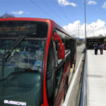 TransMilenio BRT system, Bogotá, Colômbia. Photo by EMBARQ Brasil.