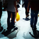 Pedestrians in mid-town Manhattan, New York City. By moriza.