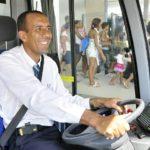 TransOeste BRT driver