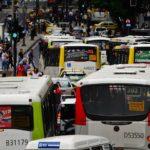 Traffic in Rio de Janeiro, Brazil