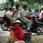 Traffic congestion in Ho Chi Minh City, Vietnam. Photo by Akshay Mahajan/lecercle.