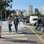 São Paulo crosswalk