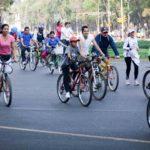 Cyclists in Mexico City, Mexico. Photo by Maks Karochkin/Flickr.