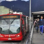 TransMilenio BRT in Bogotá, Colombia. Photo by Mariana Gil/EMBARQ Brazil.