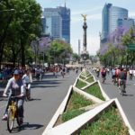 Mexico City's new mobility law prioritizes alternatives to car transport. Photo by karmacamilleeon/Flickr.