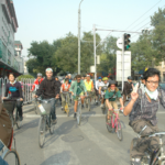By prioritizing sustainable transport solutions, Beijing can shift away from car culture and improve quality of life for its rapidly growing population. Photo by Philip/Flickr.