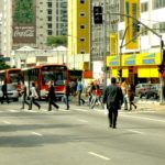 Five new publications from EMBARQ Brasil will help foster people-oriented cities with high quality public transport systems. Photo by Dylan Passmore/Flickr.