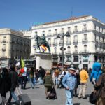 In another sign of the growing momentum for open streets, Madrid is banning cars from its city center as part of larger plan to advance sustainable urban mobility. Photo by Cassie/Flickr.