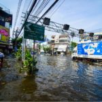 River Flooding in Bangkok, Thailand
