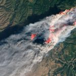 Here's What Smoke from California's Wildfires Looks Like from Space