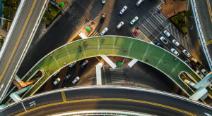 China Elevates Bike Lanes to a New Level